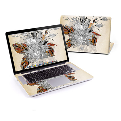 MacBook Pro Retina 15in Skin - Fall Floral