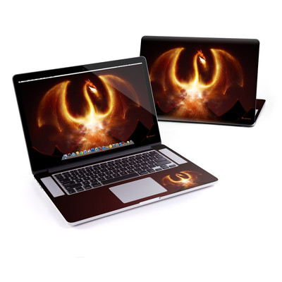 MacBook Pro Retina 15in Skin - Fire Dragon