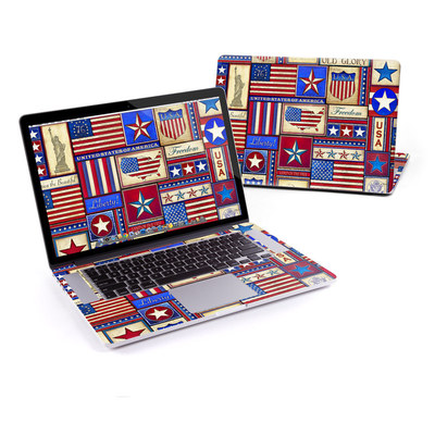 MacBook Pro Retina 15in Skin - Flag Patchwork