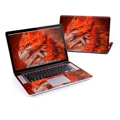 MacBook Pro Retina 15in Skin - Flame Dragon