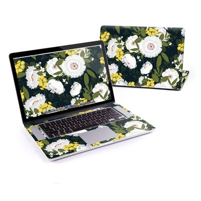 MacBook Pro Retina 15in Skin - Fleurette Night