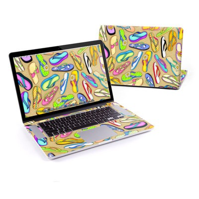 MacBook Pro Retina 15in Skin - Flip Flops
