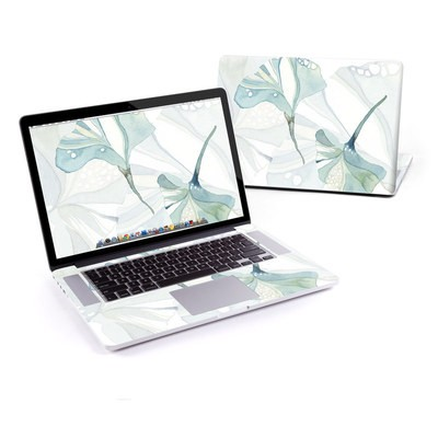 MacBook Pro Retina 15in Skin - Floating Gingko