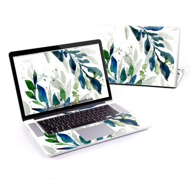 MacBook Pro Retina 15in Skin - Floating Leaves