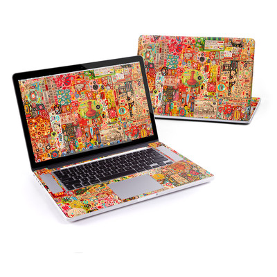 MacBook Pro Retina 15in Skin - Flotsam And Jetsam