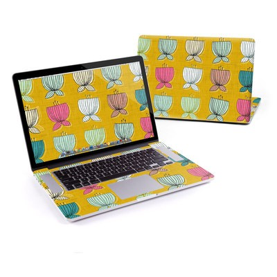 MacBook Pro Retina 15in Skin - Flower Cups