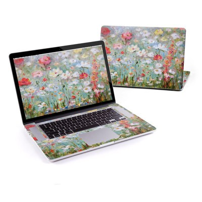 MacBook Pro Retina 15in Skin - Flower Blooms