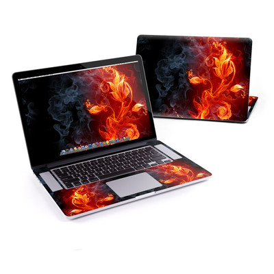 MacBook Pro Retina 15in Skin - Flower Of Fire