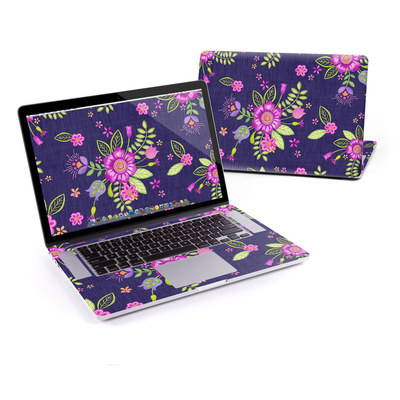 MacBook Pro Retina 15in Skin - Folk Floral
