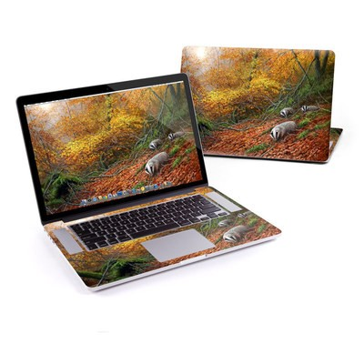 MacBook Pro Retina 15in Skin - Forest Gold