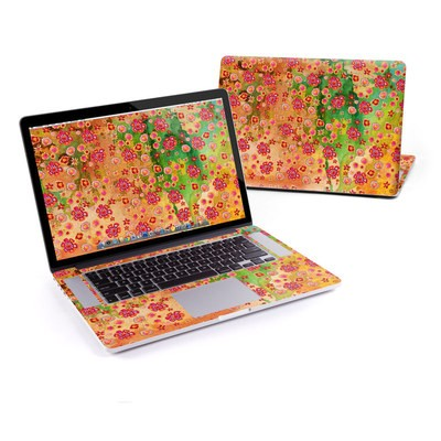 MacBook Pro Retina 15in Skin - Garden Flowers