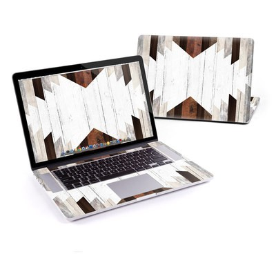 MacBook Pro Retina 15in Skin - Geo Wood