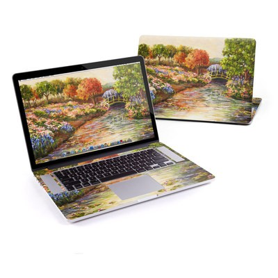 MacBook Pro Retina 15in Skin - Giverny Forever