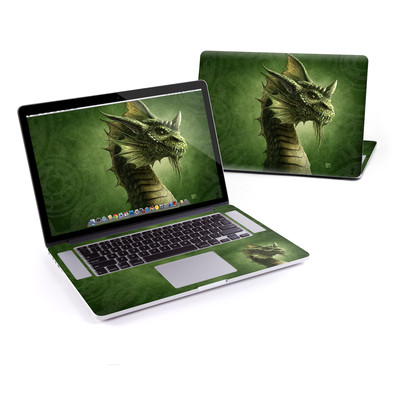 MacBook Pro Retina 15in Skin - Green Dragon