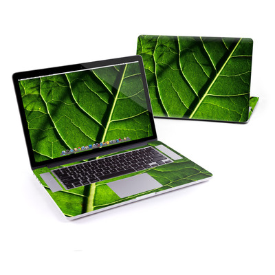 MacBook Pro Retina 15in Skin - Green Leaf