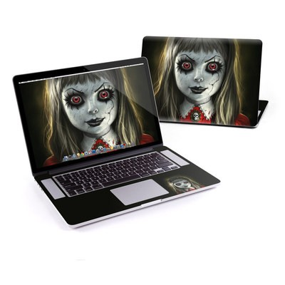 MacBook Pro Retina 15in Skin - Haunted Doll