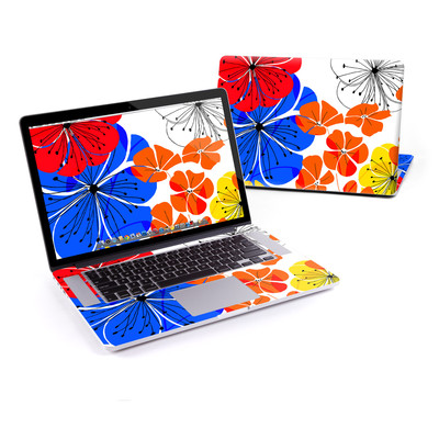 MacBook Pro Retina 15in Skin - Hibiscus Dance