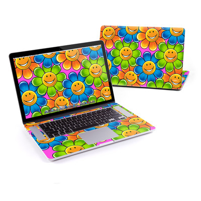 MacBook Pro Retina 15in Skin - Happy Daisies