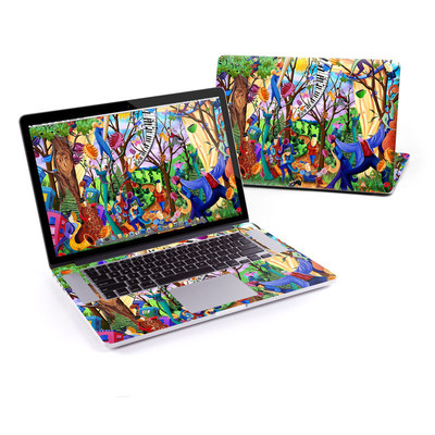 MacBook Pro Retina 15in Skin - Happy Town Celebration
