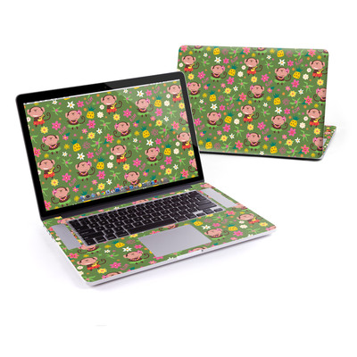 MacBook Pro Retina 15in Skin - Hula Monkeys