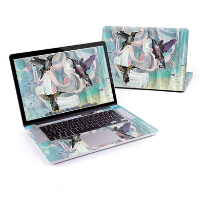MacBook Pro Retina 15in Skin - Hummingbirds