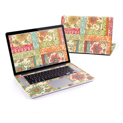 MacBook Pro Retina 15in Skin - Ikat Floral