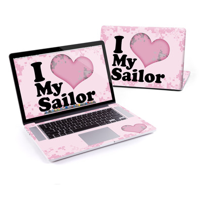 MacBook Pro Retina 15in Skin - I Love My Sailor