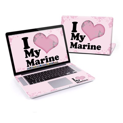 MacBook Pro Retina 15in Skin - I Love My Marine