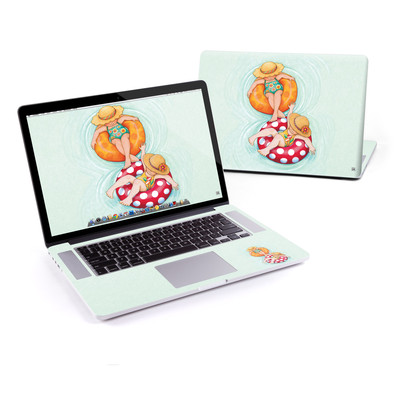 MacBook Pro Retina 15in Skin - Inner Tube Girls