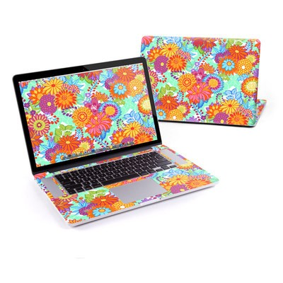 MacBook Pro Retina 15in Skin - Jubilee Blooms