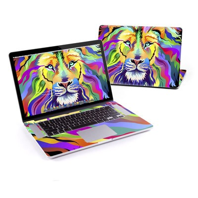 MacBook Pro Retina 15in Skin - King of Technicolor