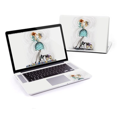 MacBook Pro Retina 15in Skin - A Kiss for Dot