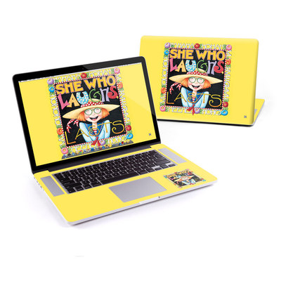 MacBook Pro Retina 15in Skin - She Who Laughs