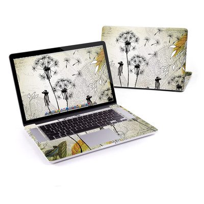 MacBook Pro Retina 15in Skin - Little Dandelion