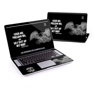 MacBook Pro Retina 15in Skin - Lead Me