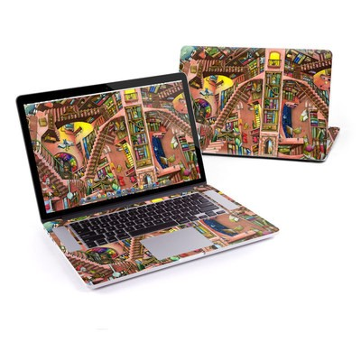 MacBook Pro Retina 15in Skin - Library Magic