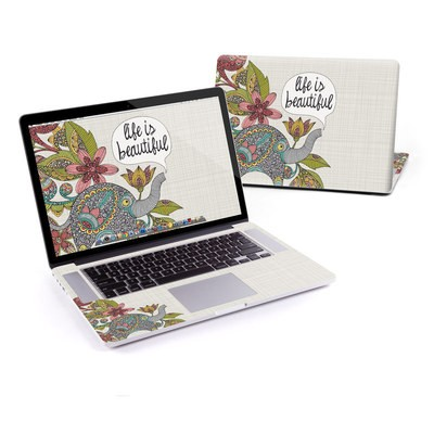 MacBook Pro Retina 15in Skin - Life is Beautiful