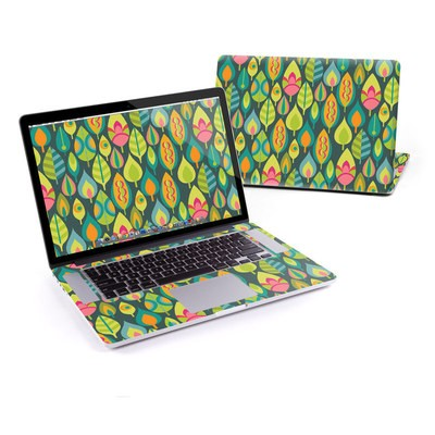 MacBook Pro Retina 15in Skin - Little Leaves