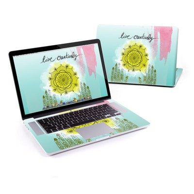 MacBook Pro Retina 15in Skin - Live Creative