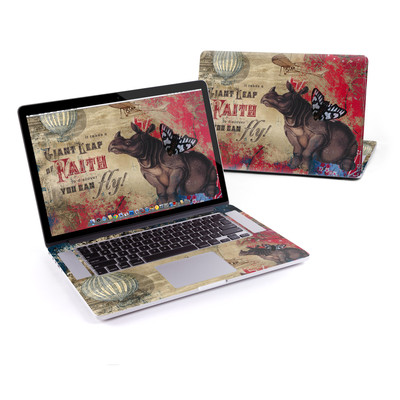 MacBook Pro Retina 15in Skin - Leap Of Faith