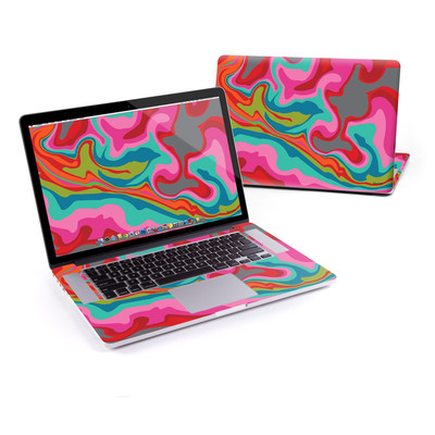 MacBook Pro Retina 15in Skin - Marble Bright