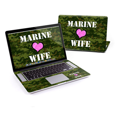 MacBook Pro Retina 15in Skin - Marine Wife
