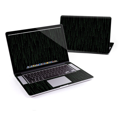 MacBook Pro Retina 15in Skin - Matrix Style Code