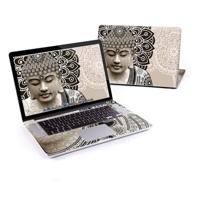 MacBook Pro Retina 15in Skin - Meditation Mehndi