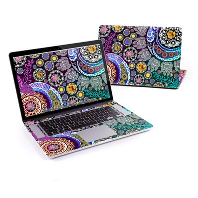 MacBook Pro Retina 15in Skin - Mehndi Garden