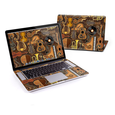 MacBook Pro Retina 15in Skin - Music Elements