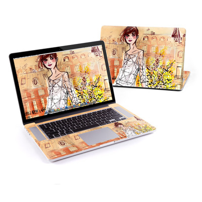 MacBook Pro Retina 15in Skin - Mimosa Girl