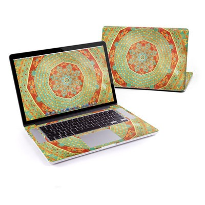 MacBook Pro Retina 15in Skin - Mandala Citrus