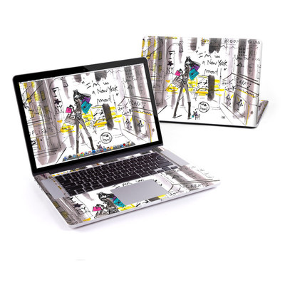 MacBook Pro Retina 15in Skin - My New York Mood