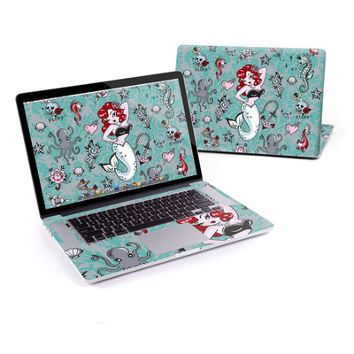 MacBook Pro Retina 15in Skin - Molly Mermaid